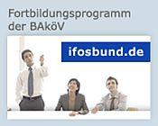 Verlinkung zu IFOSBund (verweist auf: Fortbildungsprogramm)