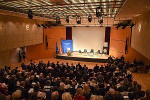 Festsaal im Haus der Geschichte; Foto: HS Bund