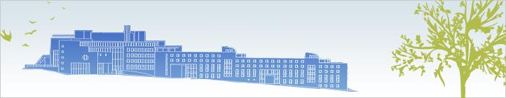 Zeichnung des Gebäudes in Brühl
