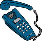 Zeichnung Telefon